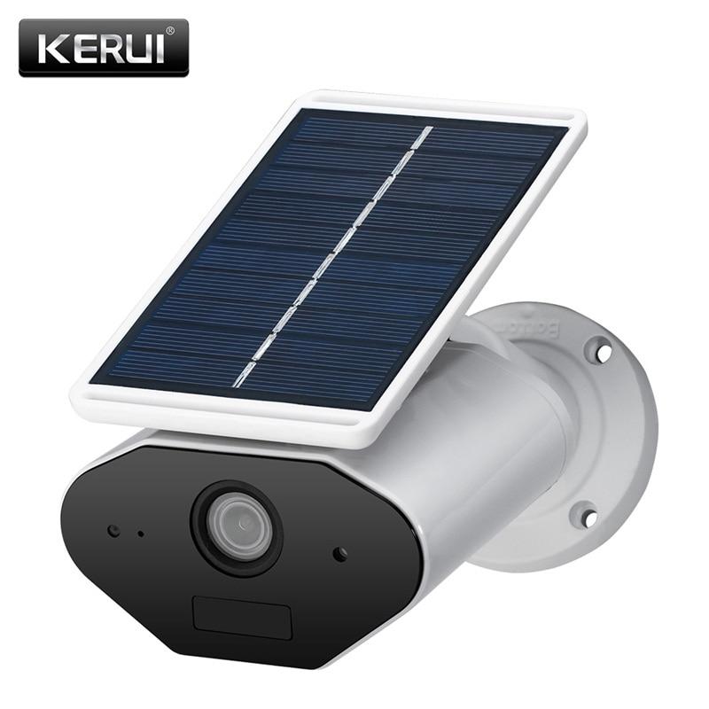KERUI L4 Открытый Солнечный Мощность ed wireless IP камеры, водонепроницаемый безопасности 1.3MP HD ИК Ночное видение Солнечный Батарея Мощность Солнеч...