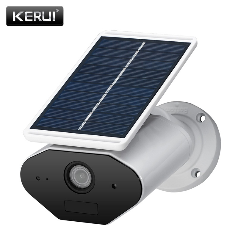 Image 2 - KERUI L4 Security Solar Camera Outdoor powered wireless IP camera wifi waterproof 1.3MP HD IR Night Vision Solar Battery Power-in Surveillance Cameras from Security & Protection