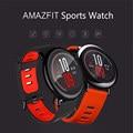 Xiaomi smart watch amazfit huami inglês versão andriod smartwatch bluetooth esporte 512 m + 4 gb gps monitor de freqüência cardíaca à prova d' água