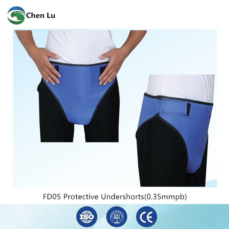 Direct Selling Medical X Ray Radiation Protective Pants Radioactivity Protection 0.35mmpb Lead Triangular Shorts