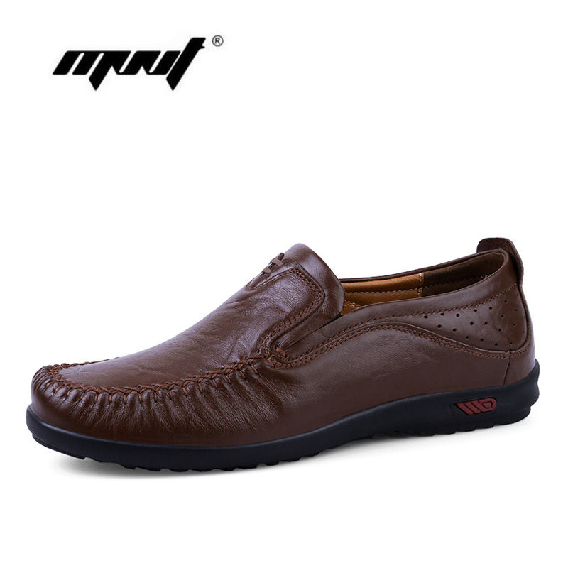 Full grain leather men shoes comfortable fashion men casual shoes comfortable slip on Moccasins quality flats shoes mapleliz brand breathable slip on solid moccasins shoes for men full grain leather high quality driving soft flat men shoes