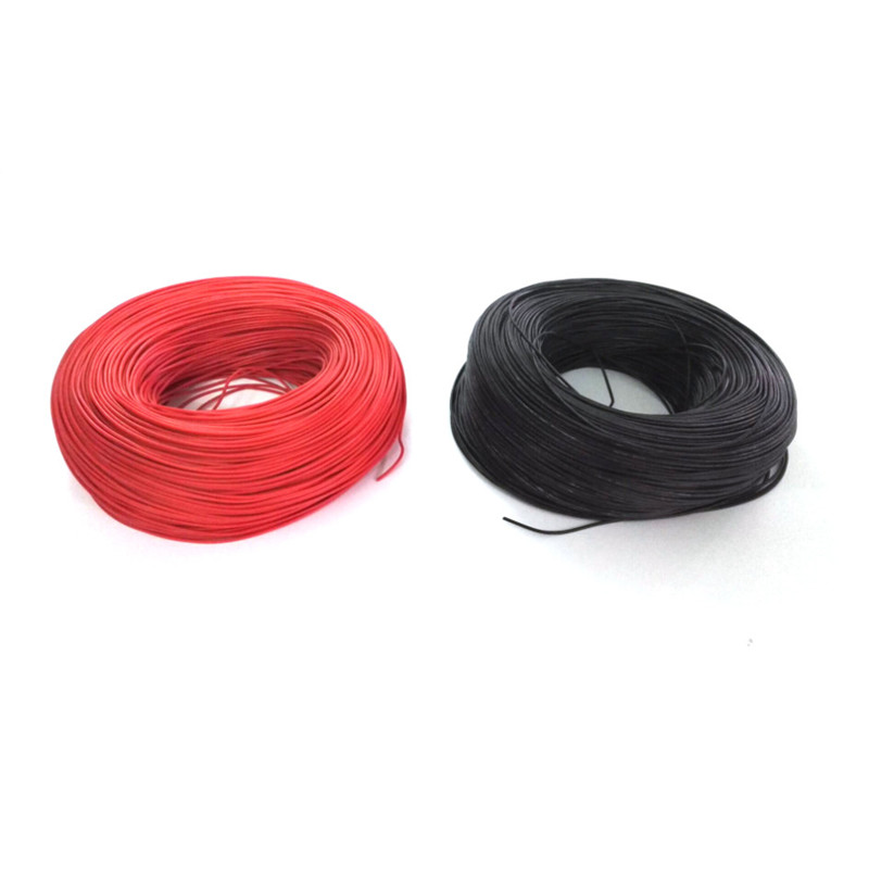 20m/lot 10 METER Red+ 10 METER Black 12AWG 14AWG 16AWG 22AWG 24AWG Heatproof Soft Silicone Wire Cable For RC Model Battery Part pz0 5 16 0 5 16mm2 crimping tool bootlace ferrule crimper and 1k 12 awg en4012 bare bootlace wire ferrules