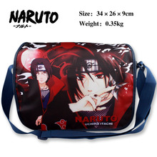 Japanese Anime NARUTO Polyester Shoulder Bag Printed Student Messenger Bags Children Satchel