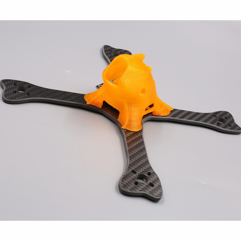 DIY FPV GEPRC 195mm GEP FX5 FlyingFish FPV Mini Racing Quadcopter with PDB XT60 Plug 3D Pringting Part And Low Windage - 2
