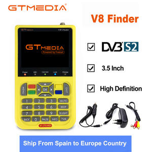 Finder Satellite-Finder-Meter Gtmedia 3000ma-Battery V8 DVB-S2 HD with FTA