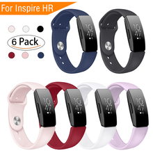 цена Silicone TPU Straps For Fitbit Inspire HR Band Smart Watch Wristband for Fitbit Inspire Band Accessories Sport Wristband Inspire онлайн в 2017 году