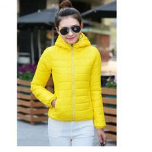 Hot Sale Women Cotton Jacket Hooded Women Coat Plus Size Thicken Winter Short Cotton Padded Outwear Casual Slim Women Jackets