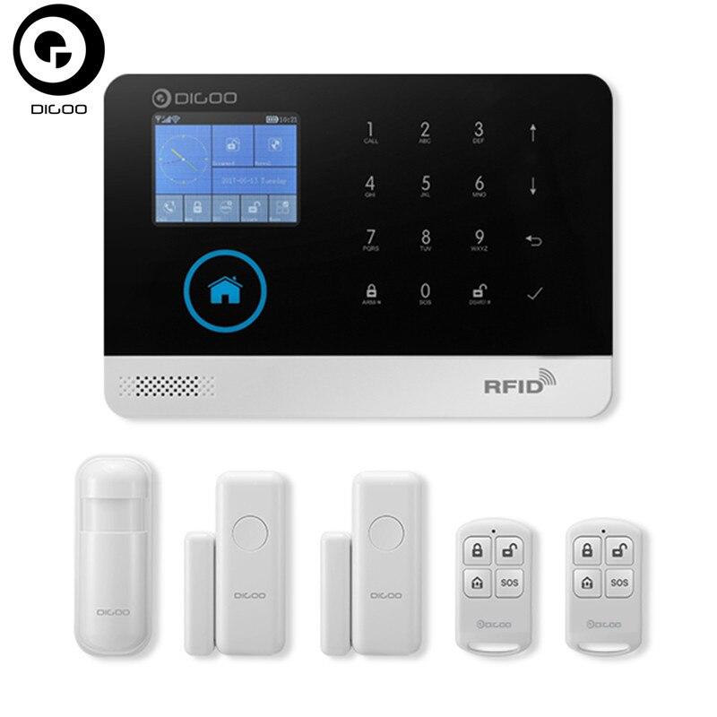 bilder für DIGOO DG-HOSA Drahtlose GSM & WIFI & 3G Smart Home Security Alarm Systeme Kits Infrarot-bewegungssensor Tür Alarm mit APP Steuer