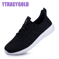 YTRACYGOLD 2017 Fashion Women Casual Shoes Summer Breathable Mesh Flats Female Platform Shoes Krasovki Chaussure Femme