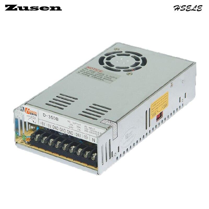 все цены на Zusen D350W-A  Dual Switch Power supply adjustable output 350w 110V/220VAC to 5~12VDC онлайн