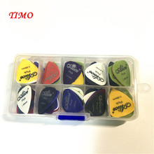 50pcs guitar picks 1 box case Alice acoustic electric guitar accessories musical instrument thickness 0.58-1.5 New Design