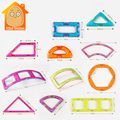 Minitudou Bulk Magnetic Designer Brick Magnetic Blocks Toys For Kids Adult Develop Intelligence Irregular Shape