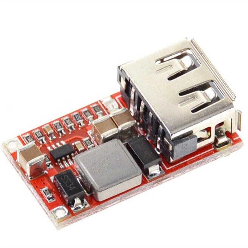 Efficiency 97.5% DC-DC Step-Down Module 6-24V12V24V to 5V3A Car USB Phone Charger Power Supply Module