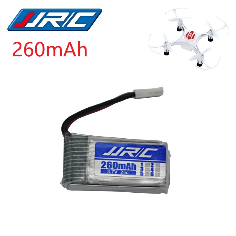 JJRC H8 Original Battery 3.7V 260mAh Lipo Battery for Eachine H8 JJRC H8 Mini RC Quadcopter drone part wholesale JJRC Battery 10pcs 3 7v 150mah drone quadcopter lipo battery 701725 with a quality for eachine h8 jjrc h8 mini syma s107g x2 nihui u207 h2