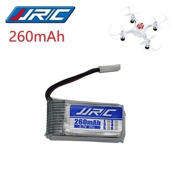 цена на JJRC H8 Original Battery 3.7V 260mAh Lipo Battery for H8 JJRC H8 Mini RC Quadcopter drone part wholesale JJRC Battery