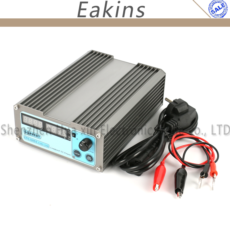 Precision Compact Digital Adjustable DC Power Supply OVP OCP OTP low power 32V 5A 30V 110V