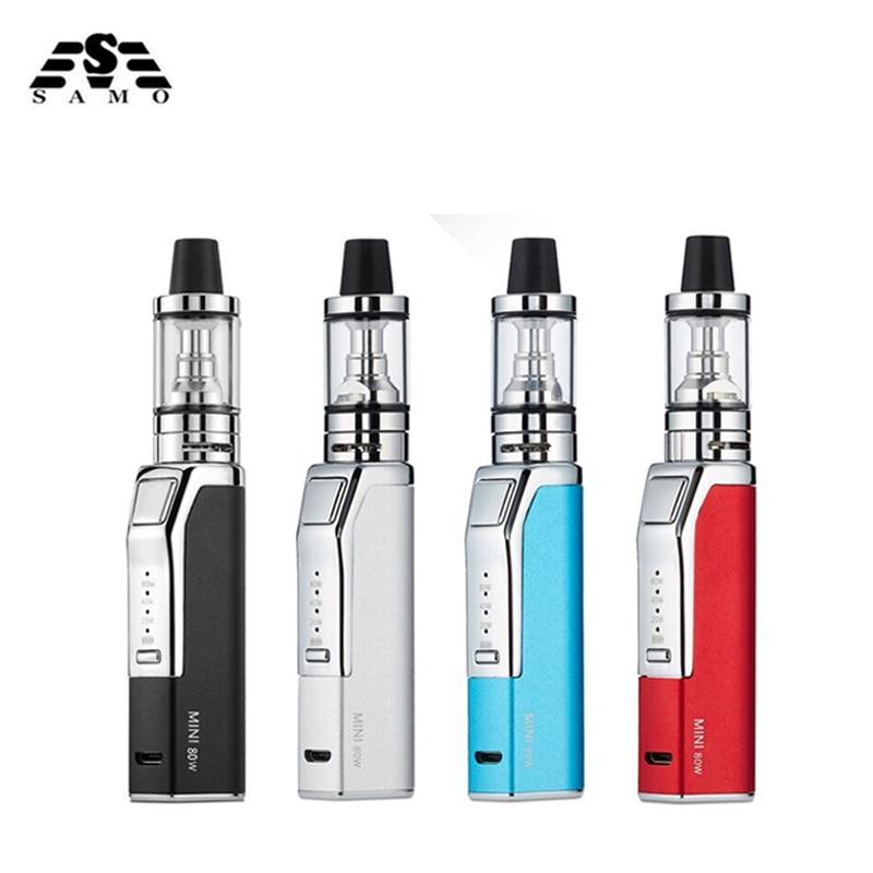 New L6 mini 80w electronic cigarette box mod kit for liquid