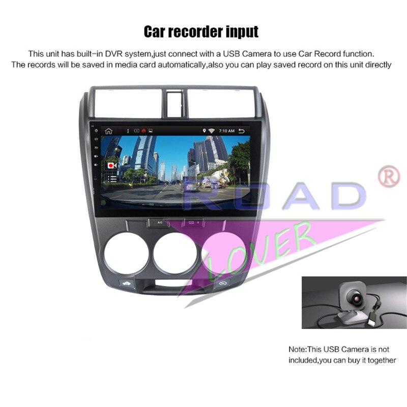 radio cradle android For Honda City 2011
