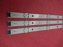 (Новый комплект); комплект из 3 вещей; 8 светодиодный 850 мм светодиодный подсветка полосы для LG 43UH6030 43UF640 HC430DGN-SLNX1 UF64_UHD_A 43LH60FHD EAV63192501