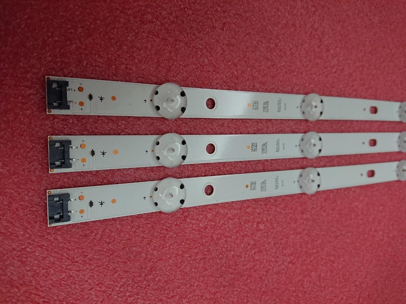 (Nuevo Kit) 3 unids 8LED 850mm de retroiluminación LED para LG 43UH6030 43UF640 HC430DGN-SLNX1 UF64_UHD_A 43LH60FHD EAV63192501