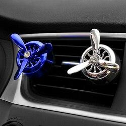 Автомобильный орнамент ABS Air Force 3 пропеллер Арома парфюм диффузор декорация для автомобилей вентиляционные отверстия на выходе освежитель ...