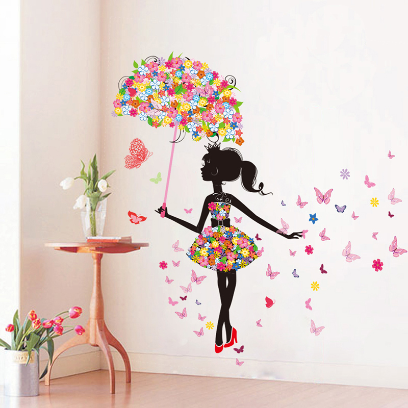 Wall Stickers Sticker Ofhead Wall Romantic Decorative Painting