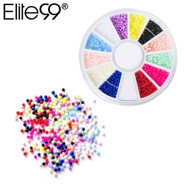 Elite99 Bunte Strass Aufkleber Mode Nail art DIY Werkzeuge Acryl Glitter Tipps Glänzende Dekoration Für Nagel Gel Polnisch