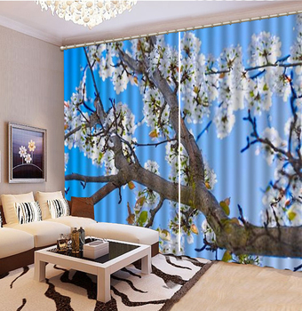 3d Curtain Full Of Flowers Delicate Flowers 3d Floral Curtains Living Room Bedroom Beautiful Practical Blackout Curtains