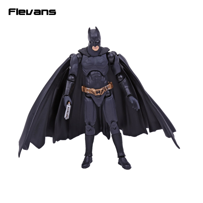SCI-FI Revoltech Series NO.008 Batman The Dark Night PVC Action Figure Collectible Model Toy 14cm