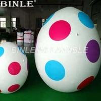 Горячие продажи пятна Рекламы Гигантские надувные пасхальные яйца с воздуходувкой для мероприятий украшения