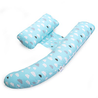 Blue Cloud Design Body Pillow Maternity Breastfeeding Nursing Set Pregnancy Pillow Keep Long Sleepers For Pregnant Soft Pillows