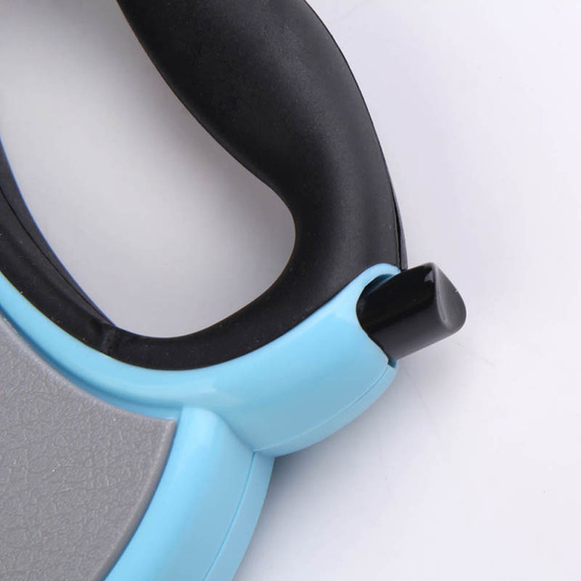 4M Automatic Retractable Dog Leash Extending Puppy Walking Leads One-handed Lock Training Adjustable Pet Collar for Dogs Cats