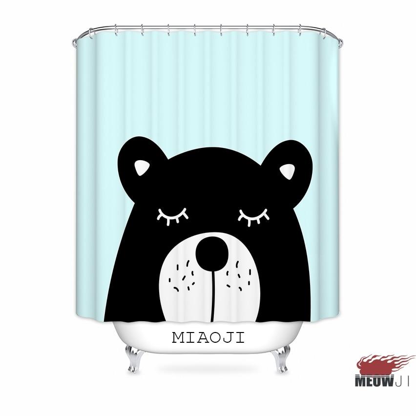[MIAOJI] Karikatur-Tier-Bärn-Flusspferd-Schwarz-kühle - Haushaltswaren - Foto 6
