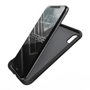 Image 3 - X doria defesa lux caso de telefone para iphone xs x militar grau gota testado anodizado de alumínio capa protetora para iphone x