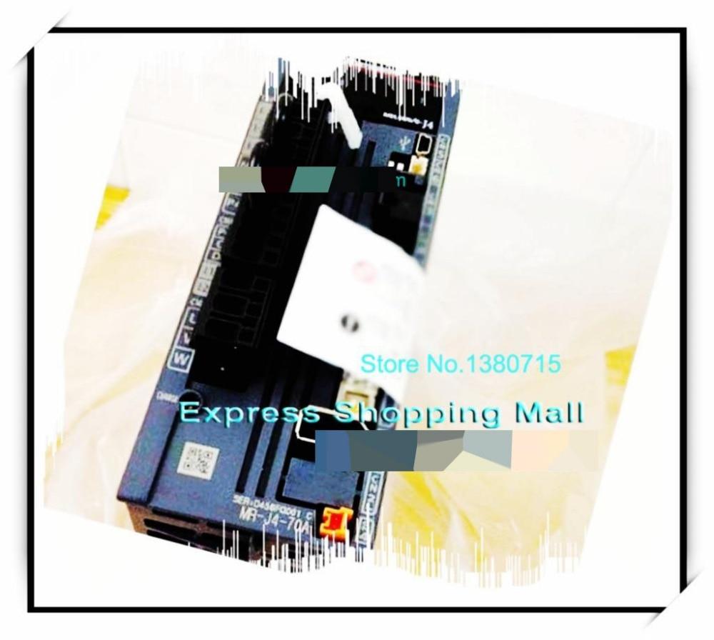 New Original 4.8A 750W 2.4NM 3000rpm Brake HG-KR73BJ+MR-J4-70A Oil seal AC Servo Motor Drive Kit dcs810 leadshine digital dc brush servo drive servo amplifier servo motor controller up to 80vdc 20a new original
