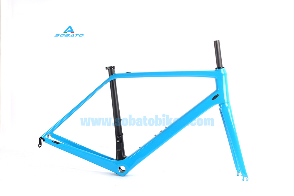 2016 New carbon road bike frame Di2 chinese road bicycle frame warranty 2 years super light T1000 carbon road frame  недорого