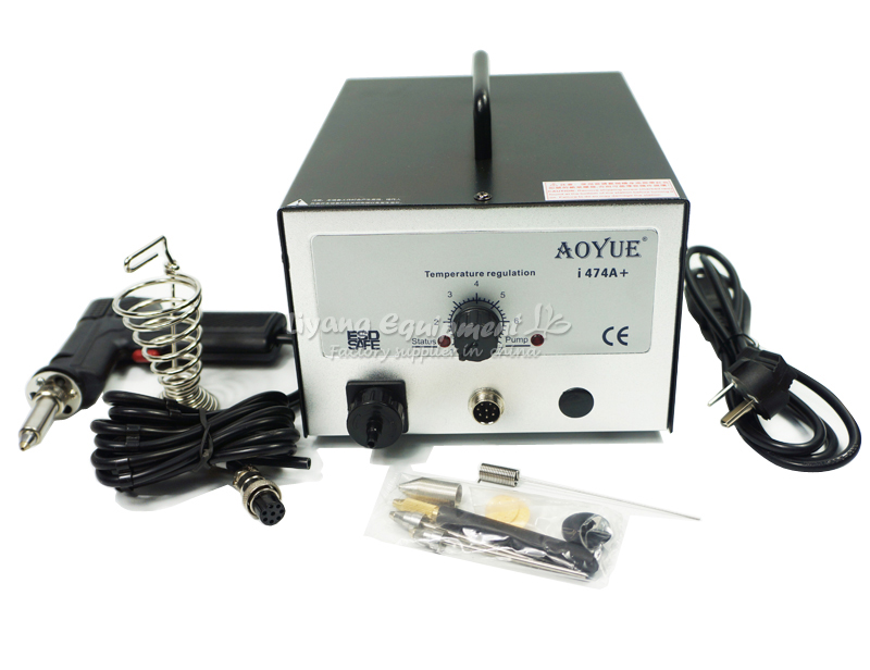 BGA Desoldering Station Electric Vacuum Desoldering Pump Sucker Adjustable Temperature AOYUE 474A+ цены