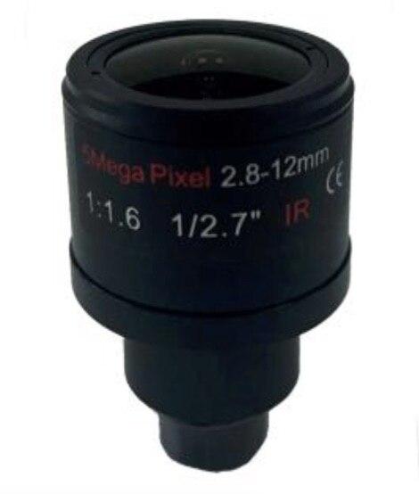 [With IR filer] 5Mega Pixel Focal Length 2.8-12mm Mannual Lense sensor 1/2.7