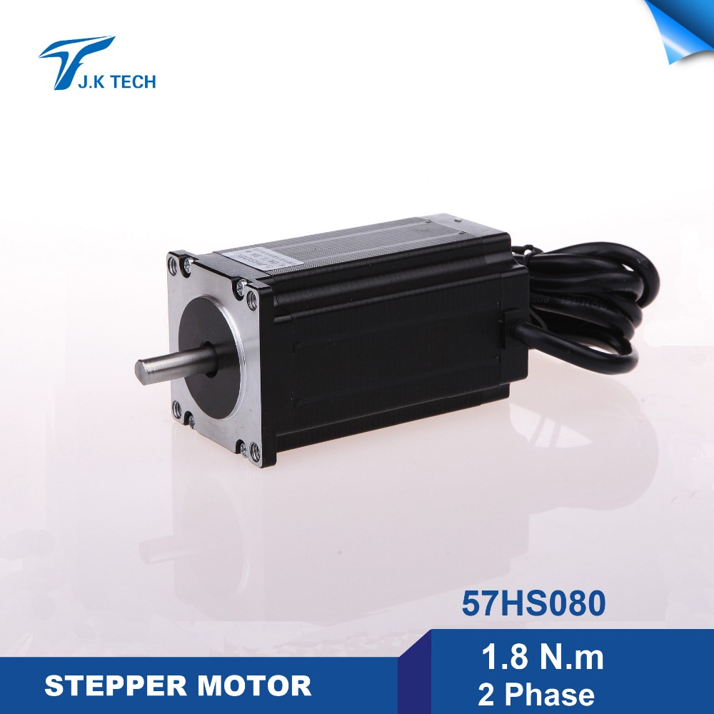 57hs080 Ac Stepper Motor 2 Phase Step Angle 1 8 Deg 1 8n M For Cnc Machine And 3d Printer 3d