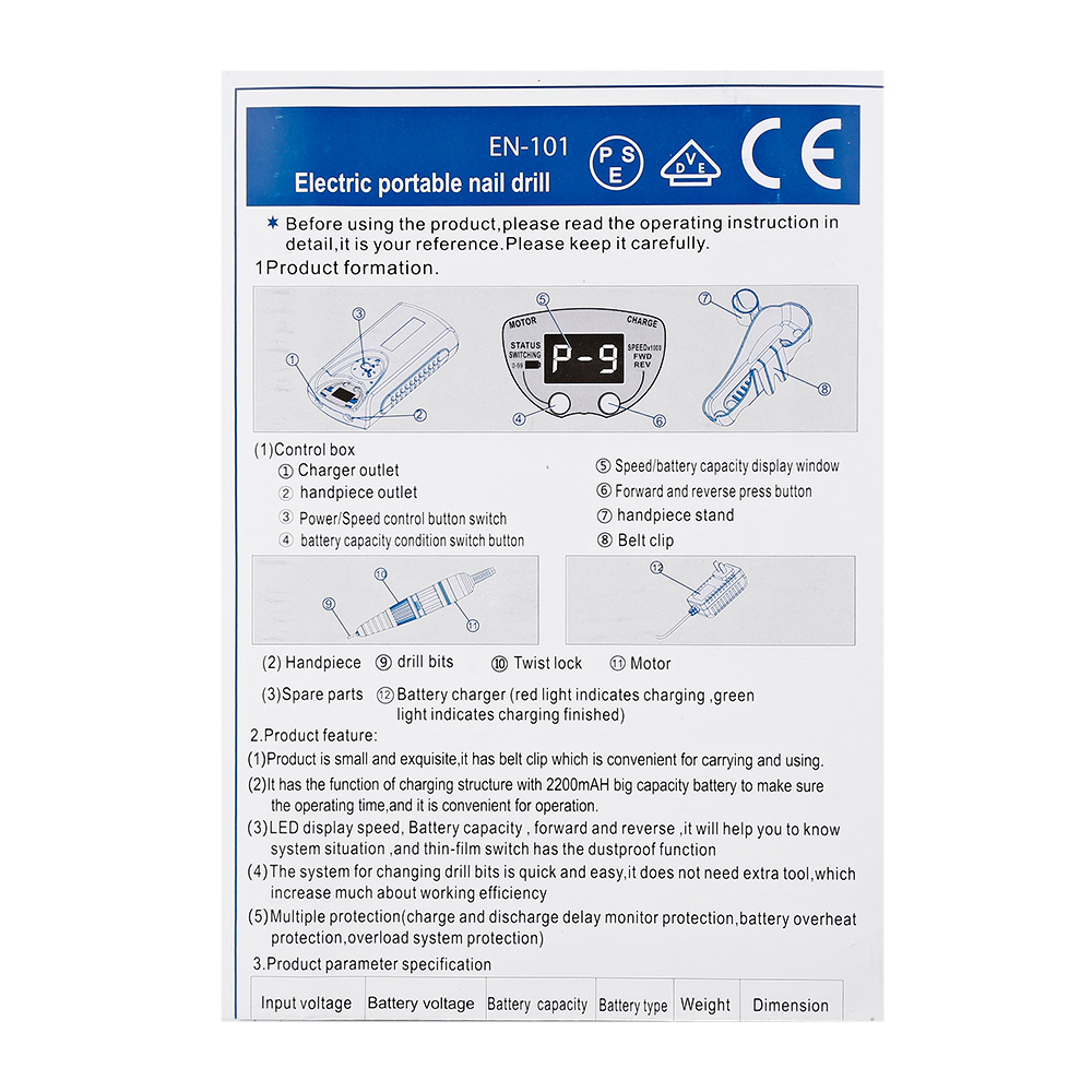cheap brocas eletricas p manicure acessorios 04