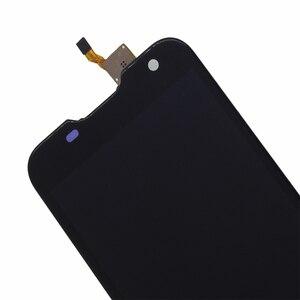 Image 5 - Original Para Blackview BV5000 componente LCD screen Display Toque digitador Assembléia Para Blackview BV5000 substituição de Peças de Telefone