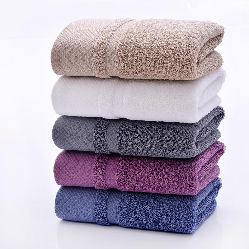 Factory Outlet Wholesale 34*75cm Pure Cotton Family Towels