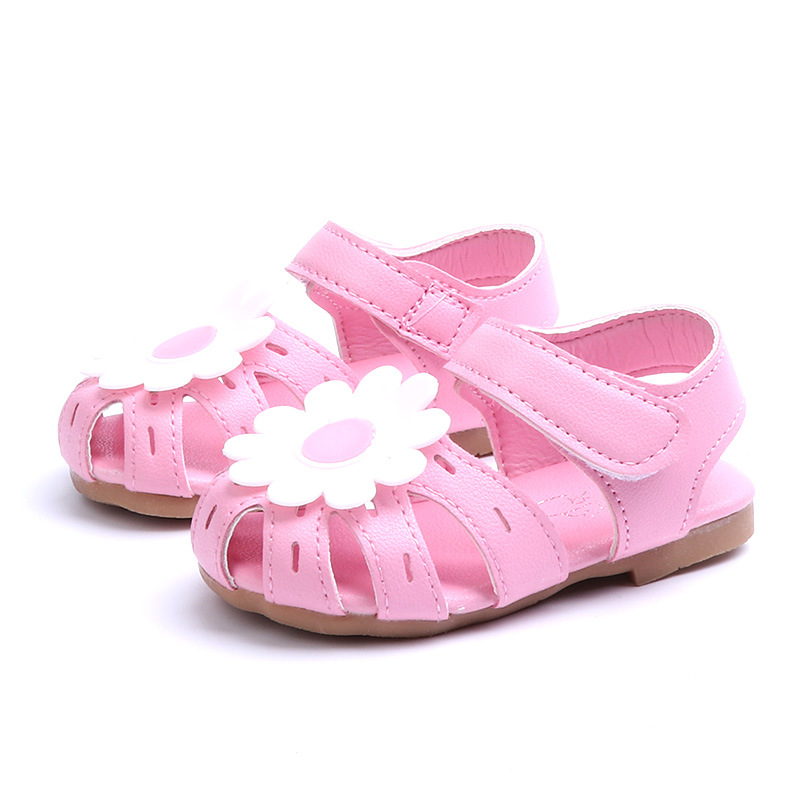 1 2 3 4 5 Years Old Kids Baby Toddler Girls Flower Walking Dress Shoes Sandals For Girls ...