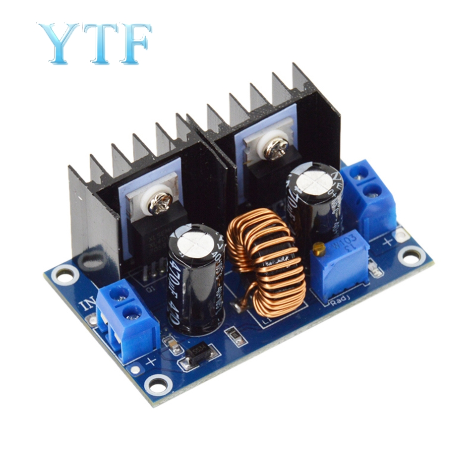 XH-M404 4-40V 8A Module Digital PWM Adjustabl DC-DC Step Down DC