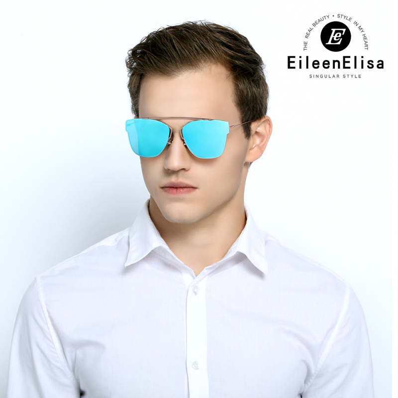 EE Mirror Lens Sunglasses Women Ultra Light Oculos De Sol Feminino 2017 New UV400 Protection Sun Glasses