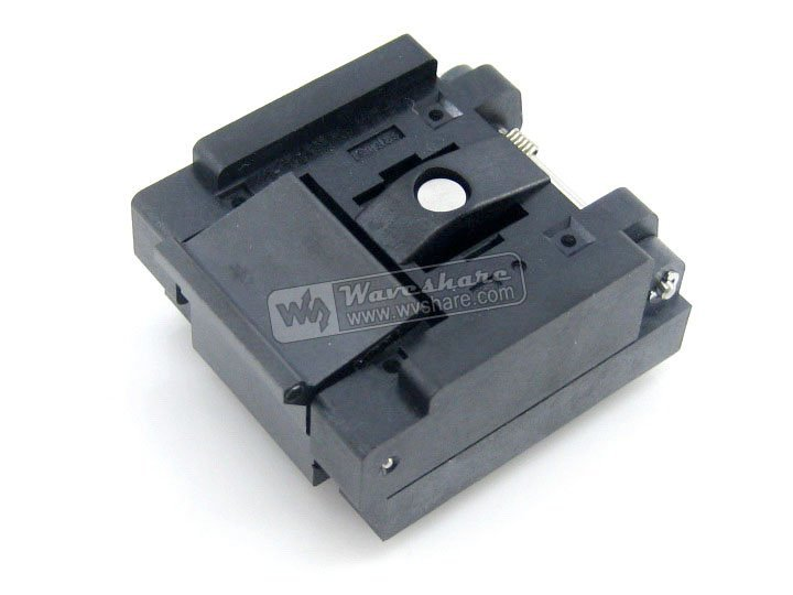 QFN24 MLP24 MLF24 QFN-24BT-0.5-01 QFN Enplas IC Test Burn-in Socket Programming Adapter 0.5mm Pitch qfn20 mlp20 mlf20 qfn 20b 0 5 01 qfn enplas ic test burn in socket programming adapter 4x4mm 0 5mmmpitch