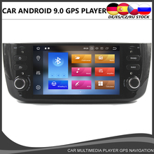 Octa Core Android 9.0 Car DVD GPS player For Fiat Punto 2009-2015 Linea 2012-2015 navigation Multimedia Stereo Radio Wifi 4+32GB android 8 0 car multimedia player 1din car radio gps stereo audio player for fiat grande punto linea 2012 2017 video mp5 player