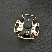 Classic Stress Toys Monster Hand Spinner Gear Gyro Finger Metal Fidget Spinner Torqbar Brass EDC Adult Finger
