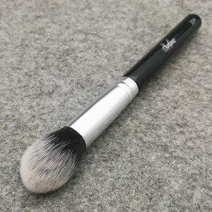 Image 2 - Sylyne brocha para resaltador cónico n. ° 204, brochas de Maquillaje facial de alta calidad