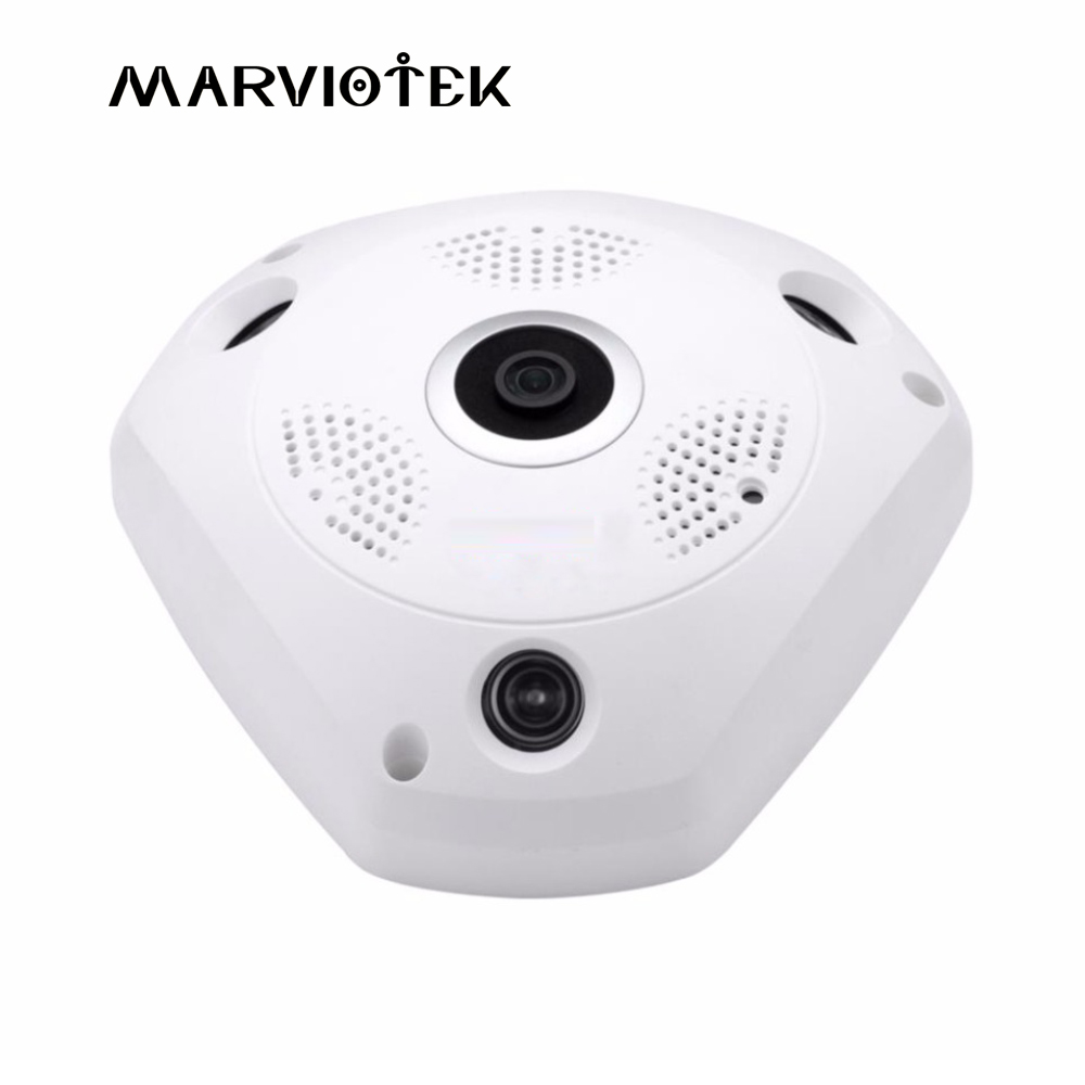 все цены на Wireless 360 Degree Panoramic Camera Fisheye HD 5MP IP Camera WIFI Home Security video Surveillance Camera CCTV Cameras IR P2P